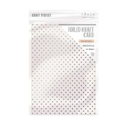 Craft Perfect – Karton med folie – rosegold hearts