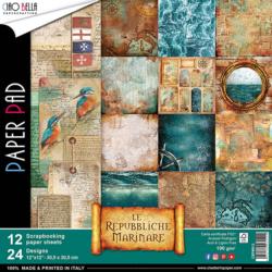 Ciao Bella Paper Pad – 30,5×30,5 cm – Repubbliche Marinare