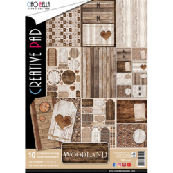 Ciao Bella – PaperPad – 30,5×30,5 cm – Woodland