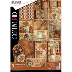 Ciao Bella Paper Pad – A4 – Codex Leonardo