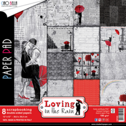 Ciao Bella – PaperPad – 30,5×30,5 cm – Loving in the Rain
