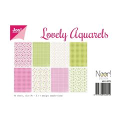 JOY PAPIRSBLOK – A4 – Lovely Aquarels