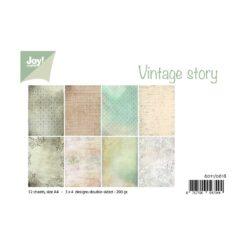 jOY PAPIRSBLOK – A4 – Vintage Story