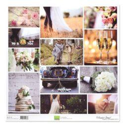 Florence – Topper – 30,5 x 30,5 cm – Bryllups billeder