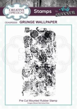 Andy Skinner Rubber Stamp – Grunge Wallpaper