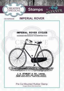 Andy Skinner Rubber Stamp – Imperial Rover