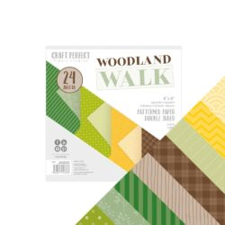 Craft Perfect – Paperpad – 15,24 x 15,24 cm – Woodland Walk