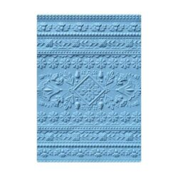 SIZZIX 3D EMBOSSINGFOLDER – Folk Art Pattern