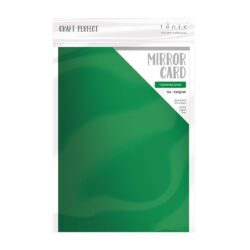 Craft Perfect – Satin spejlkarton – Flourishing Green A4