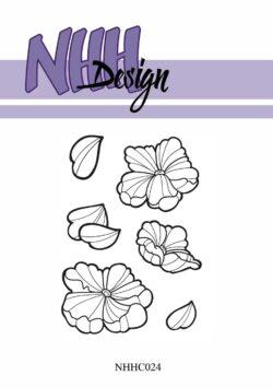 NHH Design Stempel – Fantasiblomst 1