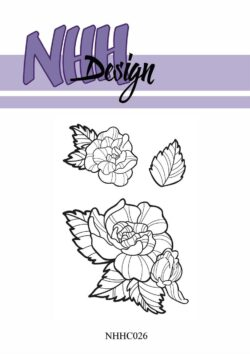 NHH Design Stempel – Fantasiblomst 2