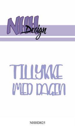 NHH Design Die – Tillykke med dagen
