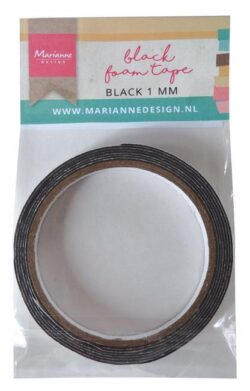 Marianne Design Black Foam Tape 1 mm