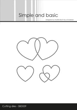 Simple and Basic die – Dotted Hearts