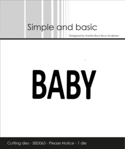 Simple and Basic die – Baby