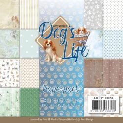 AMY DESIGN PAPIRBLOK Dog's life