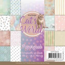AMY DESIGN PAPIRBLOK Cat's world