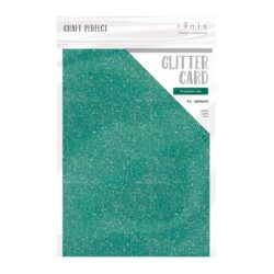 Craft Perfect – Glitterkarton – Turquoise Lake