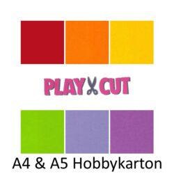 Karton - Playcut A4 & A5