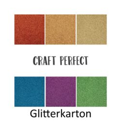 Karton - Craft perfect Glitterkarton