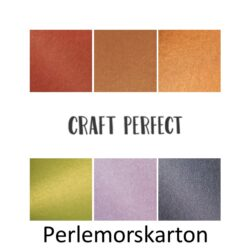 Karton - Craft perfect Perlemorskarton