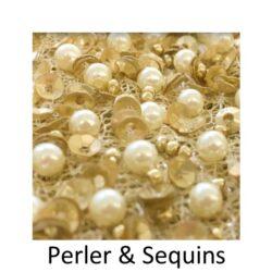 Perler og Sequins