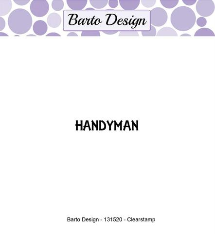 Barto Design stempel - Handymand