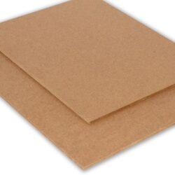 1 ark – 2 mm tyk kraftplade – 30,5 x 30,5 cm