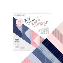 Craft Perfect – Paperpad – 15,24 x 15,24 cm – Blue Blossom
