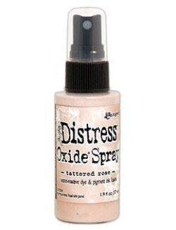 Oxide Spray Tattered Rose