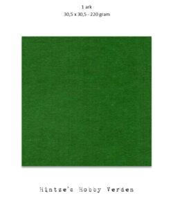 1 ark – 30,5×30,5 cm karton – Grangrøn