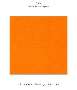 1 ark – 30,5×30,5 cm karton – Mandarin