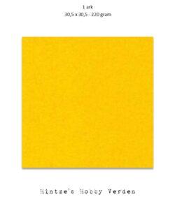 1 ark – 30,5×30,5 cm karton – Solgul