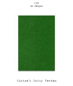 1 ark Playcut A4 Karton Grangrøn