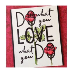COOSA Crafts stempel – Do love