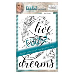 COOSA Crafts stempel – Live dream