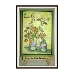 COOSA Crafts stempel – Vase 1