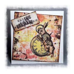COOSA Crafts stempel – Watch the rabbit