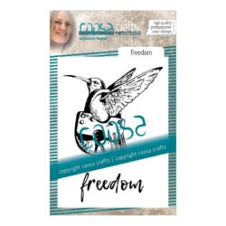 COOSA Crafts stempel – Freedom