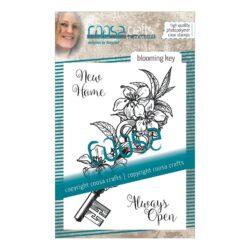 COOSA Crafts stempel – Blooming key