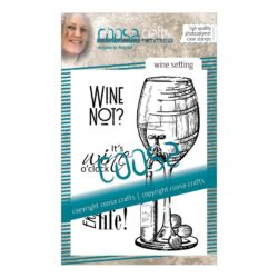 COOSA Crafts stempel – Wine setting