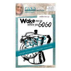 COOSA Crafts stempel – Wake me up