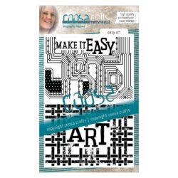 COOSA Crafts stempel – Easy art