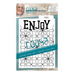 COOSA Crafts stempel – Enjoy