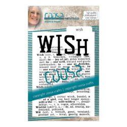 COOSA Crafts stempel – Wish