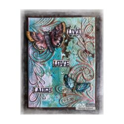 COOSA Crafts stempel – Laugh fly