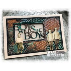 COOSA Crafts Die – Boys will be boys