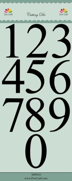DIXI CRAFT DIE – XXL Numbers