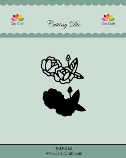 DIXI CRAFT DIE – Roses wtih Outline-1