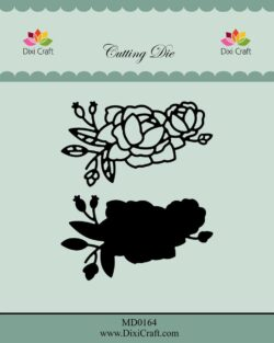DIXI CRAFT DIE – Roses wtih Outline-3